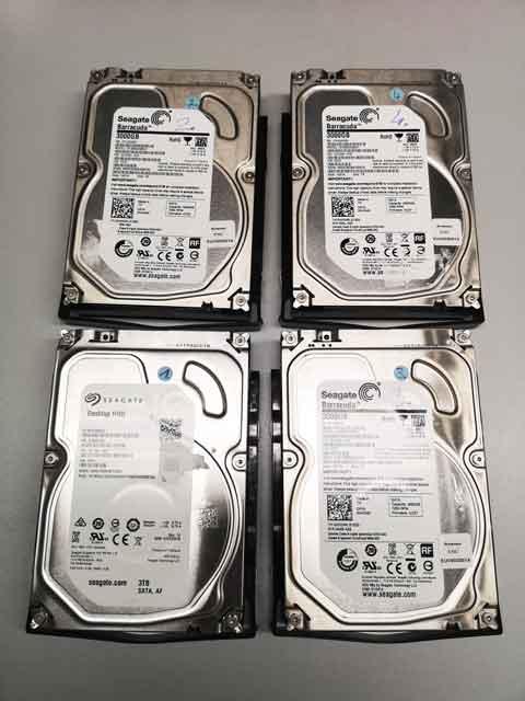 NAS-Server-Datenrettung.Alle NAS-Server Festplatten markieren