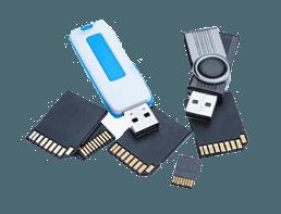 Datenrettung von Speicherkarten und USB-Sticks