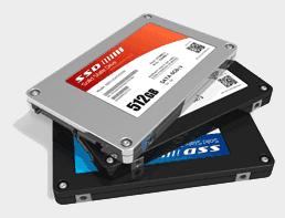 verschiedene SSD Modelle